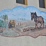 Wandbild Backscheune