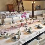 Backscheune eingedeckt Hochzeit