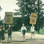 1963 zur 950-Jahrfeier Schilderträger zum Festumzug 1963