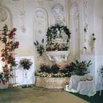 Grottenpavillon zur Rosenschau Mitte der 90er Jahre