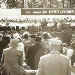 1. Kreissängertreffen 1958