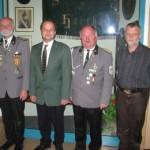 Die teilnehmenden Mitglieder des Vorstandes