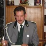 Erster Vorsitzender Horst Ikert beim Bericht des Vorstandes