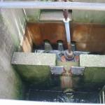 Ableitung von gereinigtem Wasser