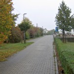 Am Friedhof in Zabeltitz