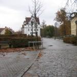 Blick zum Schloss Zabeltitz