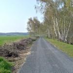 Radweg am Kanal nach Marksiedlitz