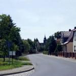 Ortseingang Streumen aus richtung Wülknitz