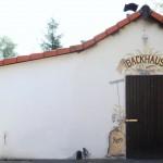 Backhaus mit Steinbackofen