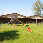 Spielplatz im Außenbereich der Backscheune