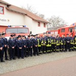 Ãœbergabe des neuen Feuerwehrautos im Sept. 2012